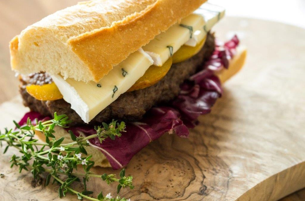 "Burger ""Fromage & Poire"""