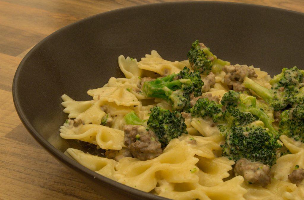 Gorgonzola-Broccoli-Pasta