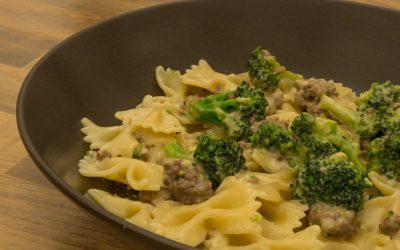 Gorgonzola-Broccoli-Pasta